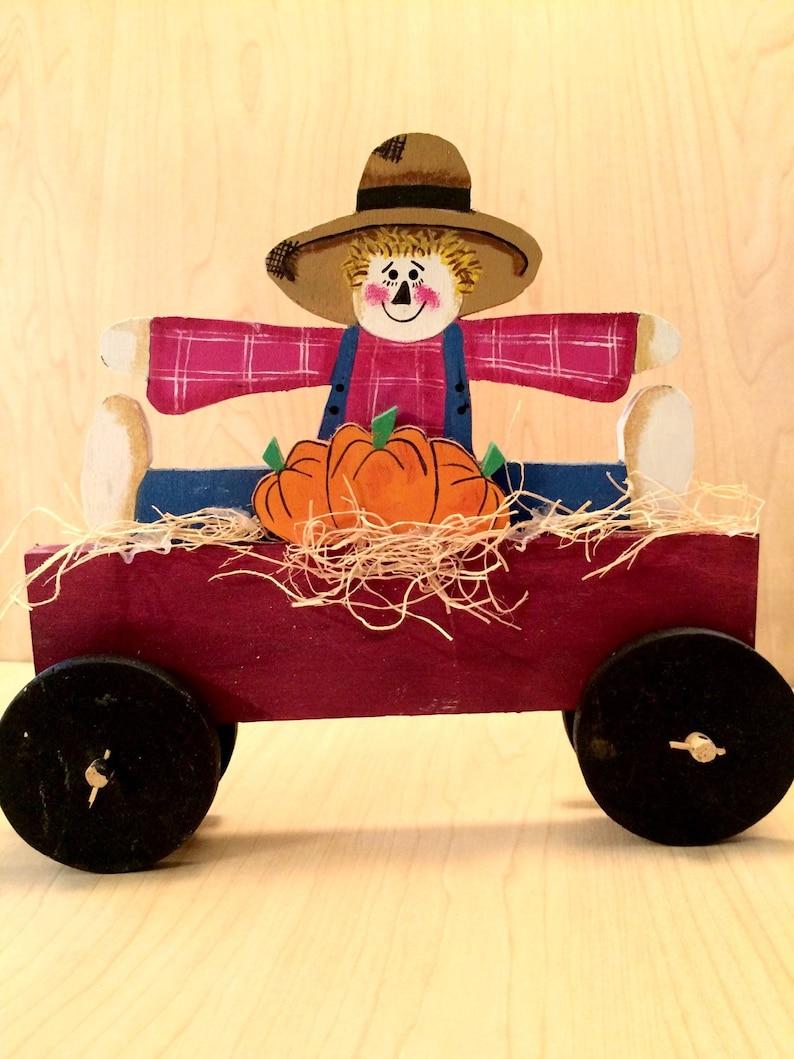 Fall Scarecrow Decoration Primitive Scarecrow Decoration image 0