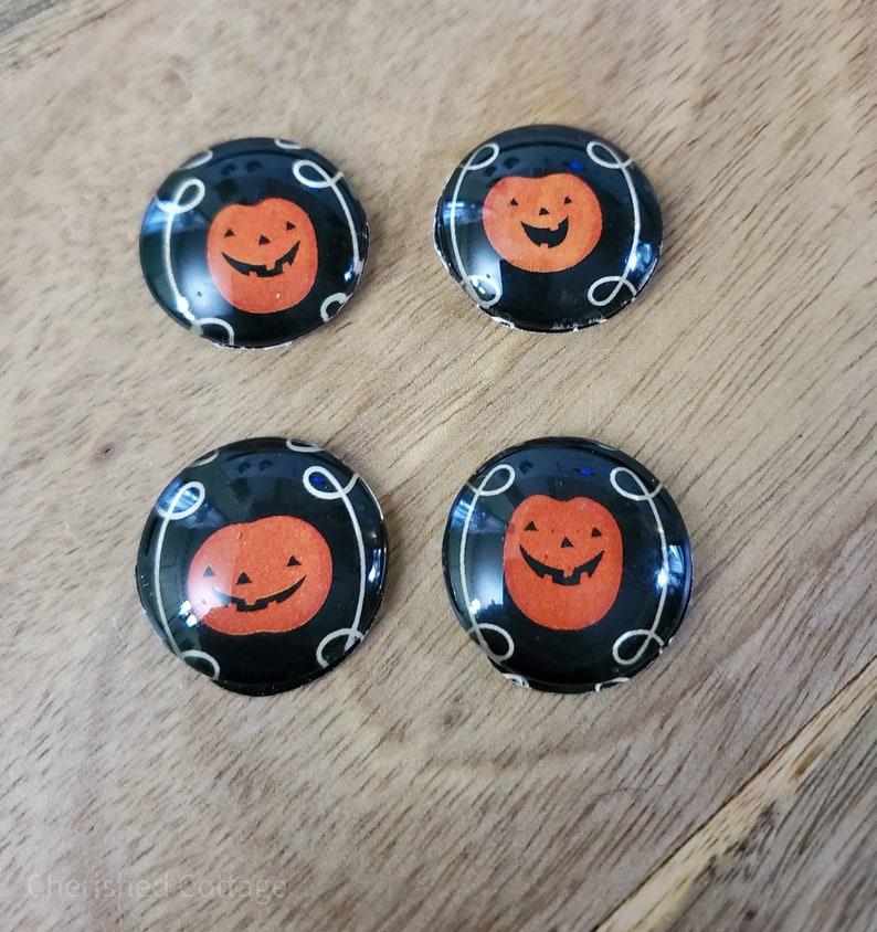Jack o Lantern Magnets Halloween Pumpkin Magnets Orange Jack image 0