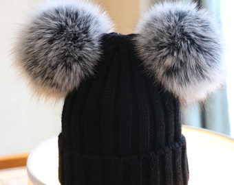 6dfa175f45be4 Knitted Warm Hat Custom for Adult Children Kids