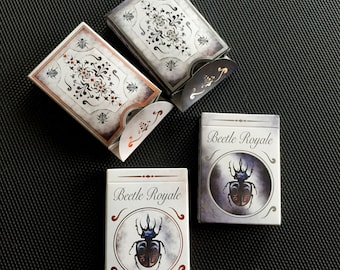 Beetle Playing Cards Set (2 Decks): Beetle Royale Premium Poker Playing Cards