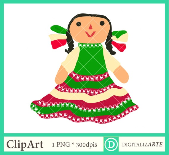 Muñeca Mexicana Juguete Tradicional Mexicano Colores Etsy