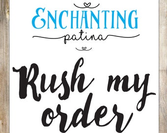 Add on Rush My Order to 3-5 Business days
