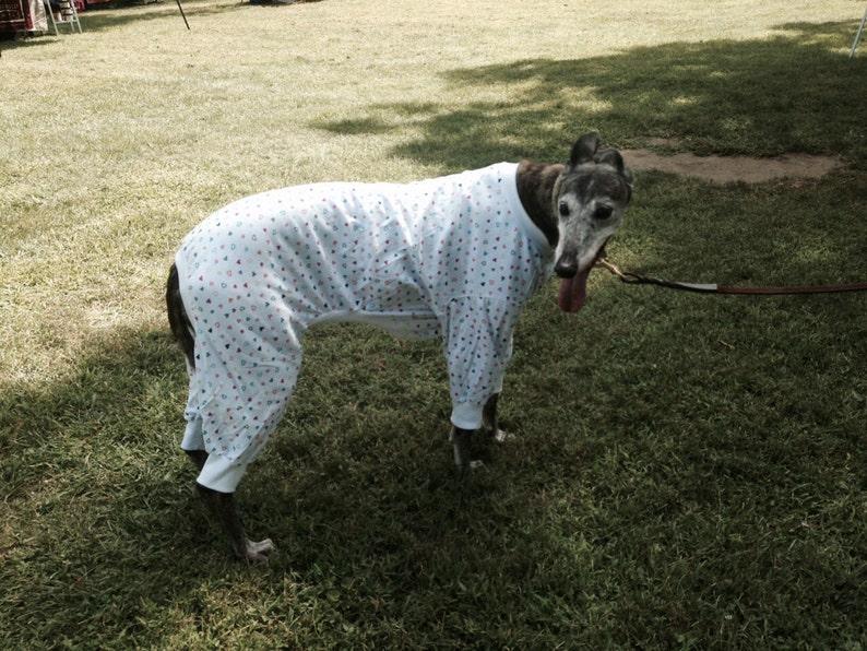 Lightweight dog pajamas swipe to see fabric choices image 0