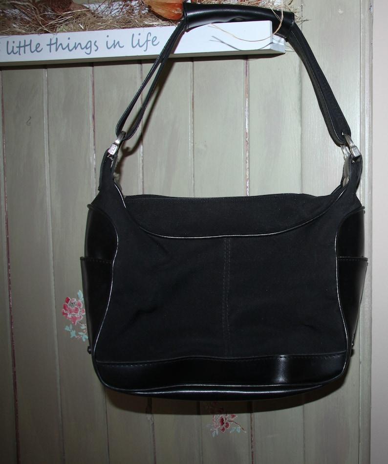 e12b08f6482 AUTHENTIC large handbag TOD's canvas/leather vintage bag | Etsy