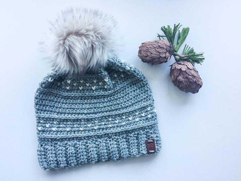 Women/'s Crochet Winter Hat