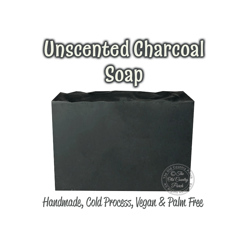 Handcrafted In Usa Detox Charcoal Soap Organic Ingredients #1 Best Seller!