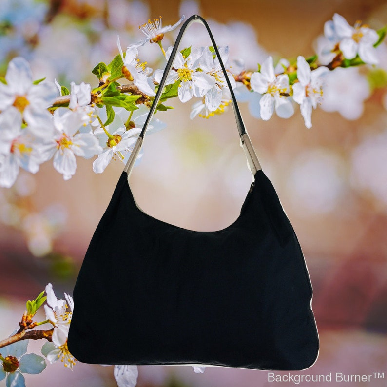 957f818bfb3c 100% Authentic Vintage Prada Shoulder Nylon Canvas Bag with | Etsy