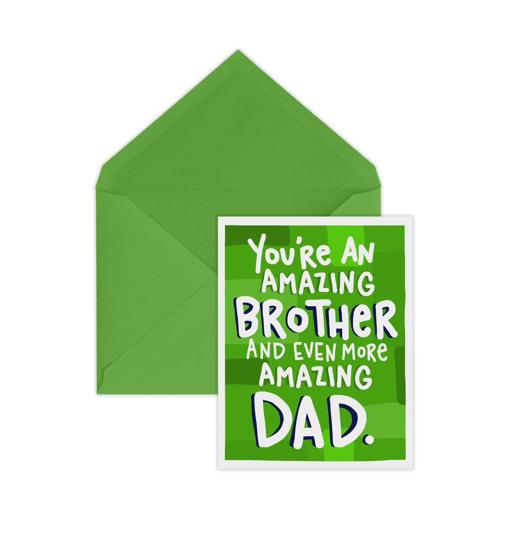 Fathers Day Card Amazing Brother Card For Brother Etsy