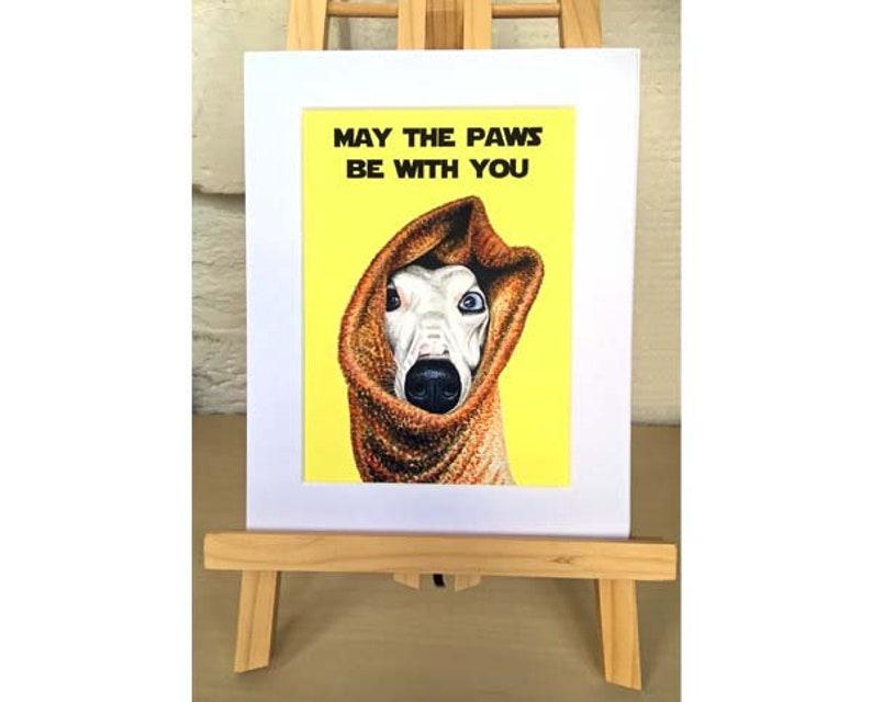 Star Wars Print Dog Print Gift for Dog Lover