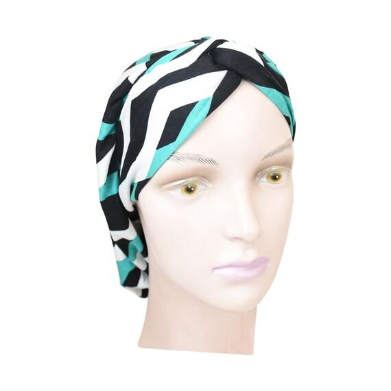 Turbante clásico estilo redecilla Headcovering colorido diseño | Etsy