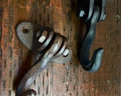 Swivel Hook for Ceiling, Wall, Man Cave, Industrial, Great for Iron Art Designing, Cast Iron, Heavy Duty Vintage Hook, Steam Punk, Farmhouse