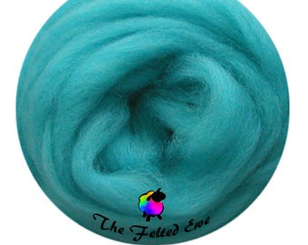 Needle Felting Wool Roving / ES21 Atlantis Lost Carded Wool Sliver
