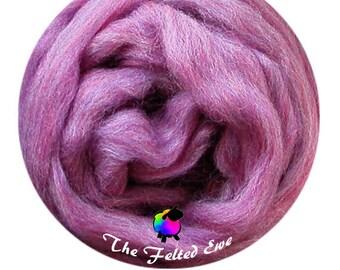 Needle Felting Wool Roving / ES36 Madagascar Sapphire Carded Wool Sliver