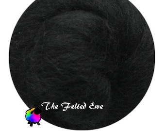 Needle Felting Wool Roving / DR56 Top Hat Carded Wool Roving