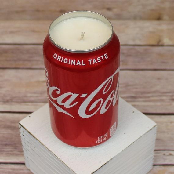 Vintage Collectible Coke Glasses 12oz. Coke Cola Scented Custom  Candle