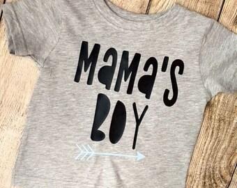 Mamas Boy T Shirt   Mother's Day Toddler Boy Shirt   Mother's Day Tee   Mama's Boy