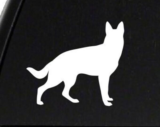 German Shepherd Decal *Choose Size & Color* German Shepherd Sticker - K9 Dog Sticker Animals Pets German Shepherd Dog Decal - Police Dog