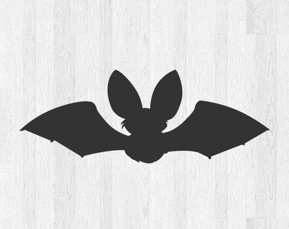 Cute Bat Decal - Cute Bat Sticker - Di Cut Vinyl Decal Halloween Sticker Halloween Decal - Bat Silhouette Animal Car Truck Laptop Decal etc.