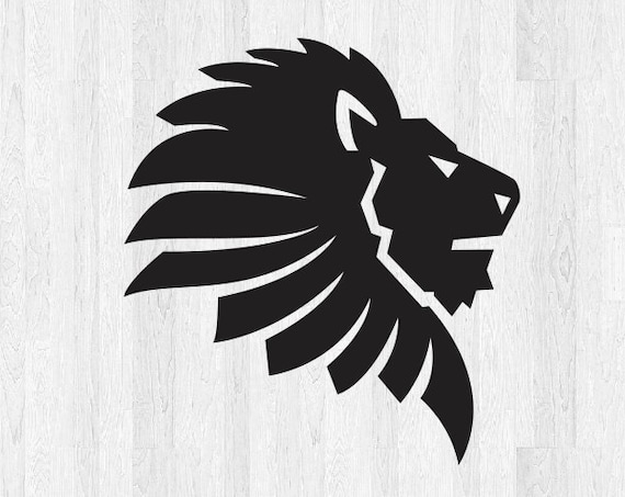 Lion Head Decal Lion Head Sticker - Lion Decal Lion Sticker Animal Decal Car Truck Laptop Decal etc. Leo Decal Leo Sticker Zodiac Sign Decal