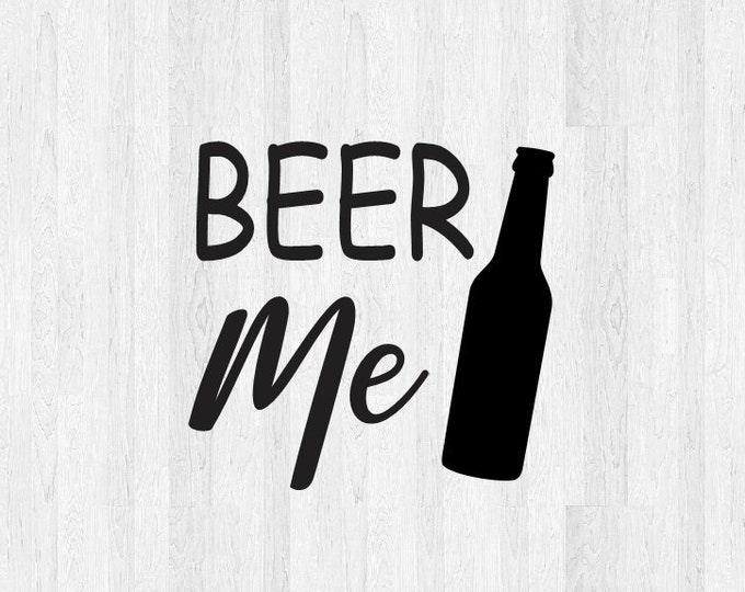 Beer Me Decal - Beer Me Sticker Beer Decal Beer Sticker - relax happy hour decal - car truck laptop MacBook yeti tumbler decal etc.