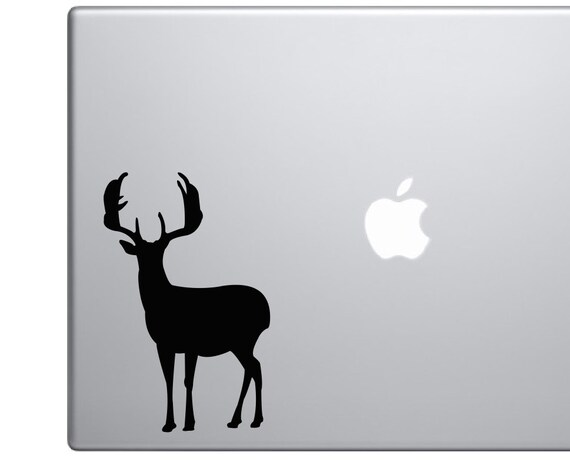 Big Game Buck Decal *Choose Size & Color* Deer Decal Deer Silhouette Vinyl Decal - Big Buck Rack Antlers Deer Sticker