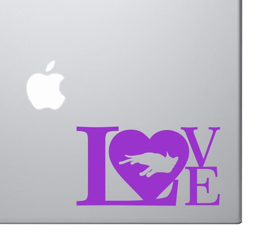 Cat Lovers Vinyl Decal **Customize your size & color* Custom Love Design - Cat Love Vinyl Decal Design - Animal Rescue