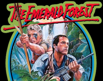 80's Powers Boothe Classic The Emerald Forest Poster Art custom tee Any Size Any Color