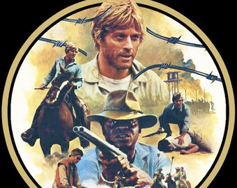 80's Robert Redford Classic Brubaker Poster Art custom tee Any Size Any Color