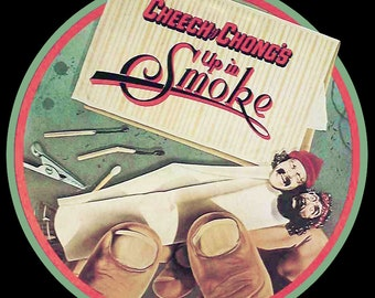 70's Cheech & Chong Classic Up In Smoke Poster Art custom tee Any Size Any Color