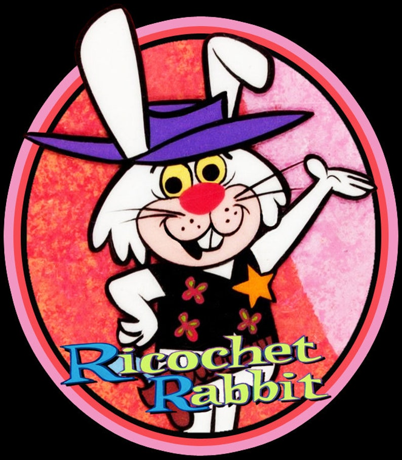 e3e1fd0cde80d 60 s Hanna Barbera Cartoon Classic Ricochet Rabbit custom
