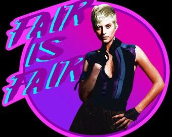 "80's Classic The Legend Of Billie Jean ""Fair Is Fair"" custom tee Any Size Any Color"
