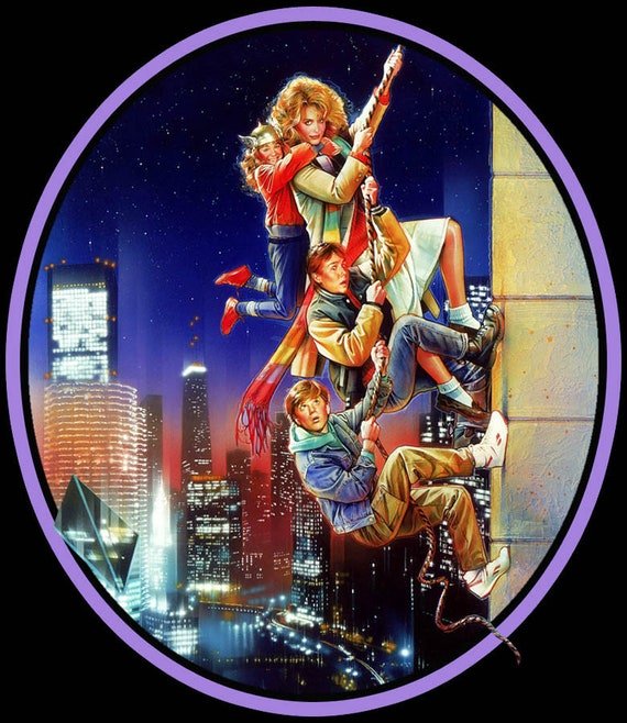80 S Classic The Adventures In Babysitting Poster Art Etsy