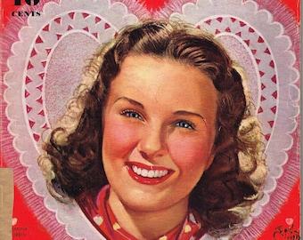 Modern Screen - Magazine - March 1940 - Deanna Durbin