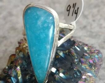 Smithsonite Ring Size 9 1/4