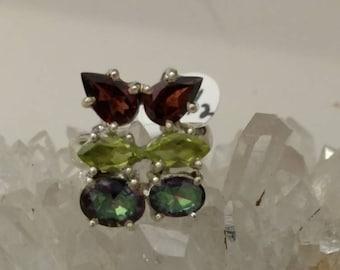 Multi-Gemstone Ring 5 1/2