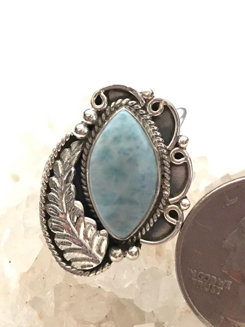 Larimar Ring Size 9