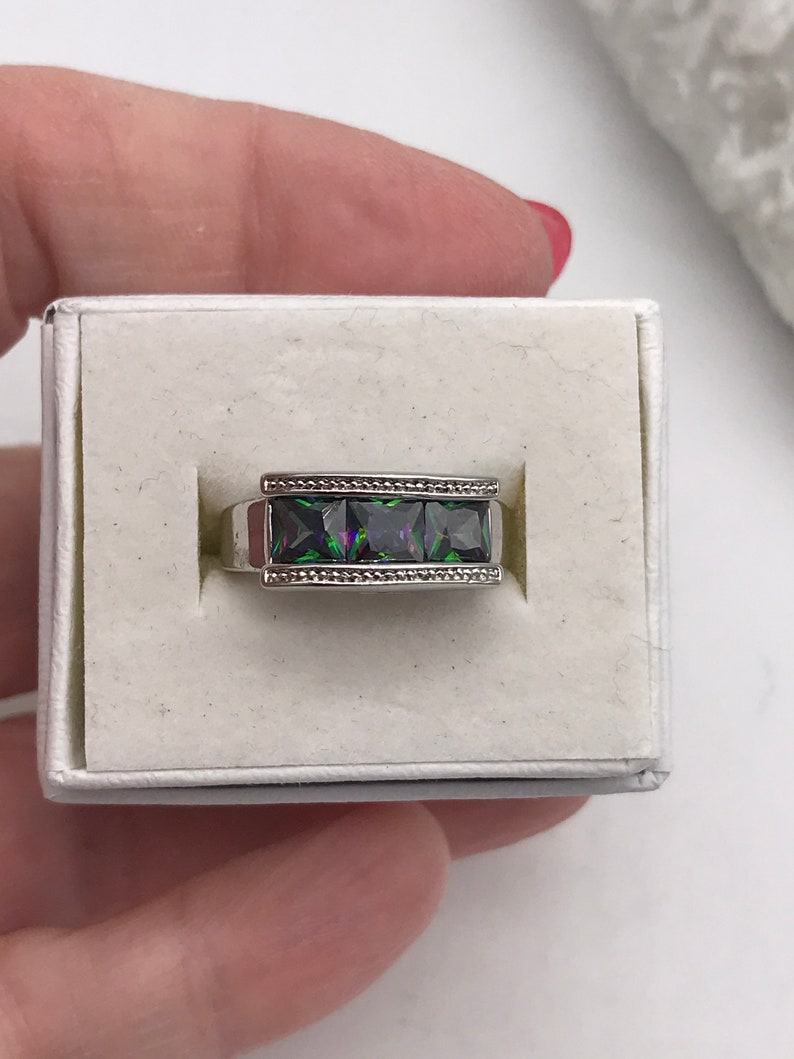 Size 6 CZ Crystal Ring