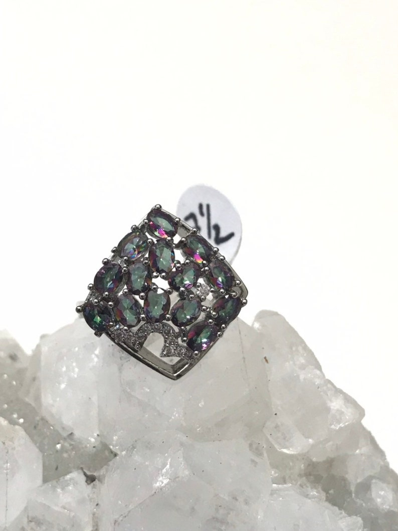 Size  7 12 CZ Crystal Ring