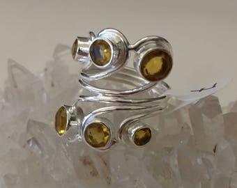 Citrine Ring Size 7