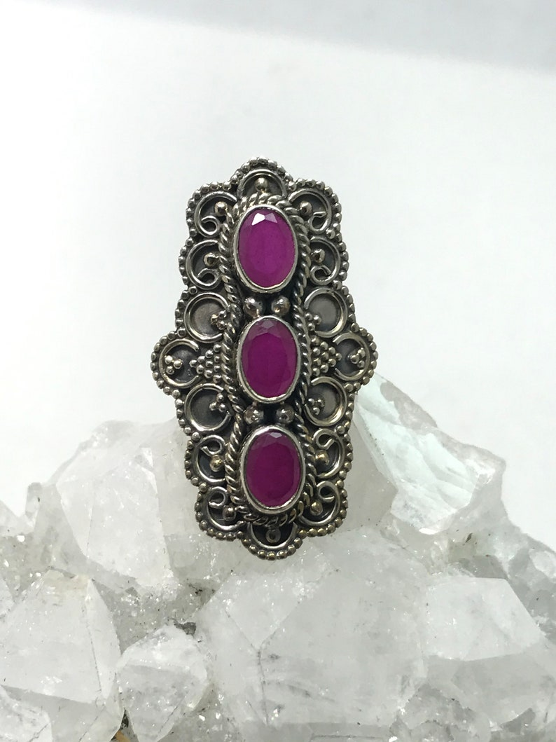 Ruby Ring Size 7