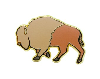 Bison Pin