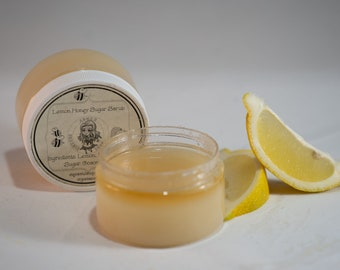 Lemon Honey Sugar Scrub, For Normal to Dry Skin