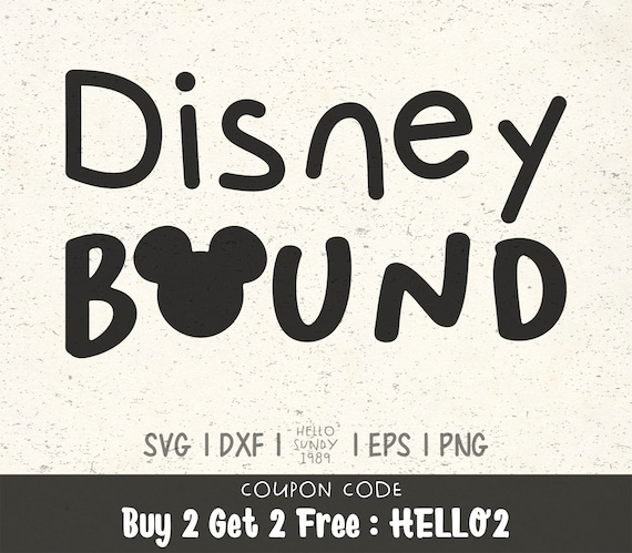 Disney Bound Svg Disney Mickey Quote Clipart Svg Files For Etsy