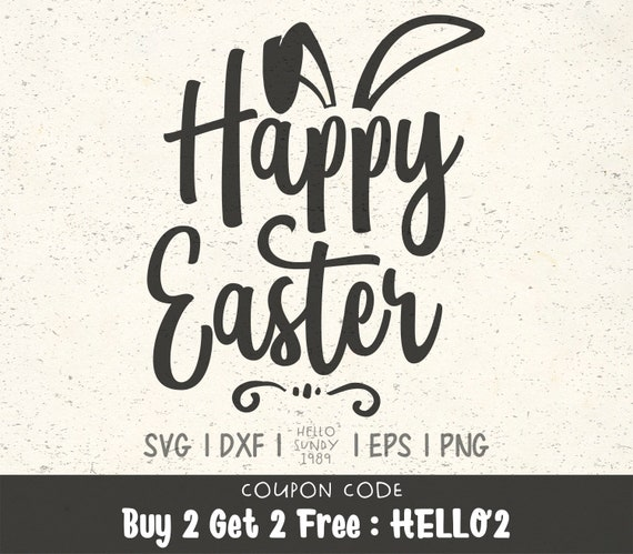 Happy Easter Svg Funny Easter Quote Clipart Svg Files For Etsy