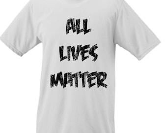 8c98fb12 All Lives Matter Parody Funny Comedy Tee Shirt. GutterShock
