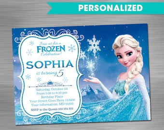 Frozen invitation etsy frozen invitation frozen birthday invitation frozen party invitation frozen printable invitation frozen diy invitation solutioingenieria Images