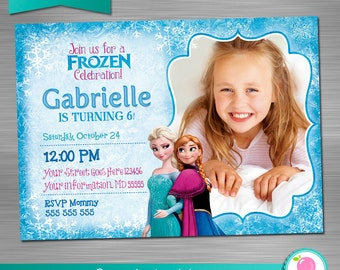 Frozen invitation etsy frozen invitation frozen birthday invitation frozen party invitation frozen printable invitation frozen diy invitation stopboris Images
