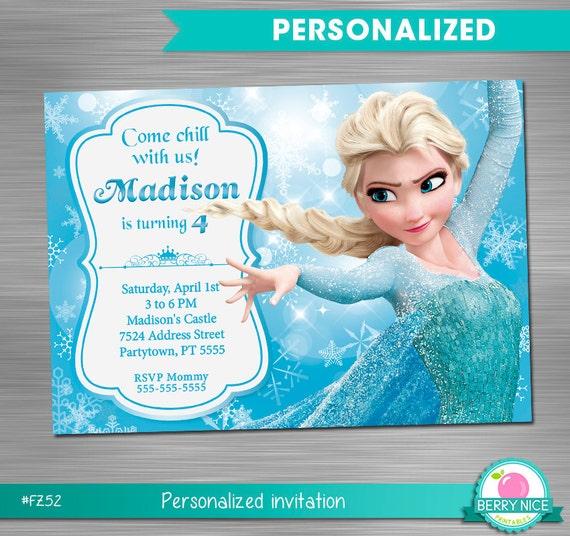 picture relating to Frozen Birthday Card Printable known as Frozen Celebration Invitation Print By yourself, Frozen Birthday Invitation Do-it-yourself, Frozen Celebration Printable Invitation, Frozen Elsa Invitation