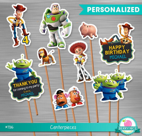 Toy Story Small Centerpieces Print Yourself Printable