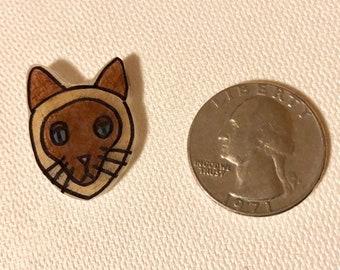 Siamese Cat Pin